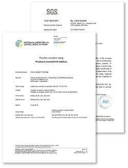 Testirani in certificirani v Sloveniji